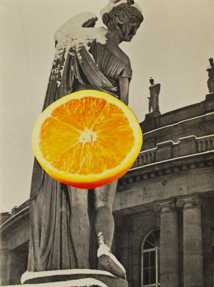 Jonathan Baxter - Orange Collage