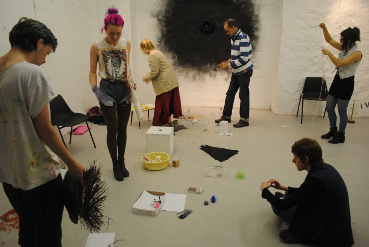 A Workshop of Ordinary Things - Jonathan Baxter, Limosine Bull, 2012