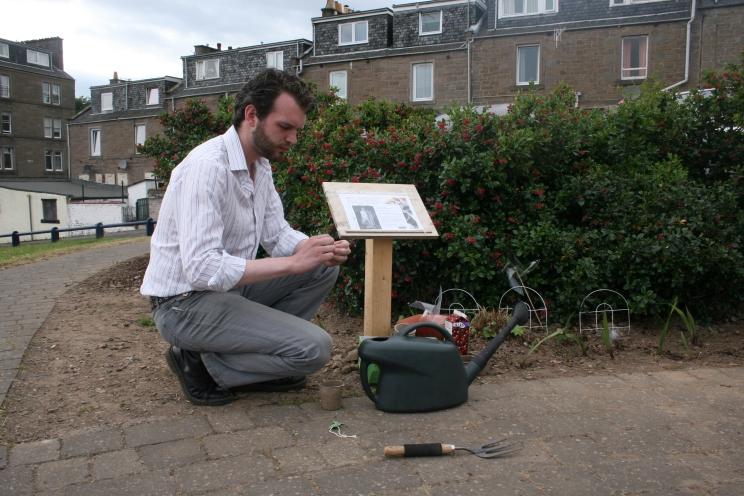 Jonathan Baxter - Art and Ecology - Guerrilla Gardening - 2010