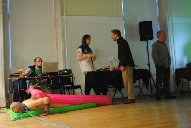 Jonathan Baxter - Li-Lo and Say Nothing - Performing Worlds, 2012